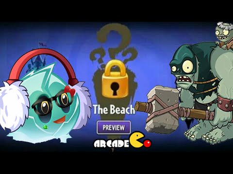 Plants Vs Zombies 2: Update News THE BEACH 6th World Dark Ages Arthur's Challenge 216