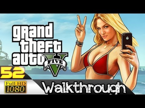Grand Theft Auto V (GTA 5) Gameplay Walkthrough Part 52 Getaway Vehicle XBOX 360 PC PS3[ Full HD ]
