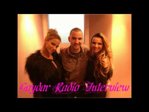Girls Aloud (Sarah and Nadine) - Gaydar Radio Interview (18-11-2012)