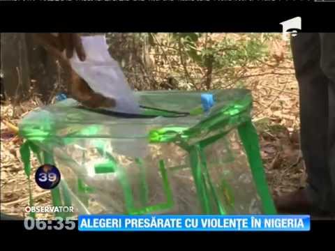 Alegerile prezidenţiale din Nigeria au fost îndoliate de atacuri