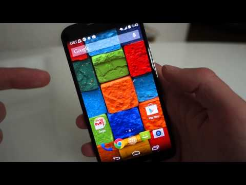 New Moto X Software Tour: Moto Display, Voice, Assist, and Actions