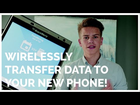 WIRELESSLY TRANSFER PHONE DATA! (From BB10 to Android)