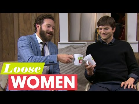 Ashton Kutcher And Danny Masterson Swap Bar Jokes With The Loose Women | Loose Women