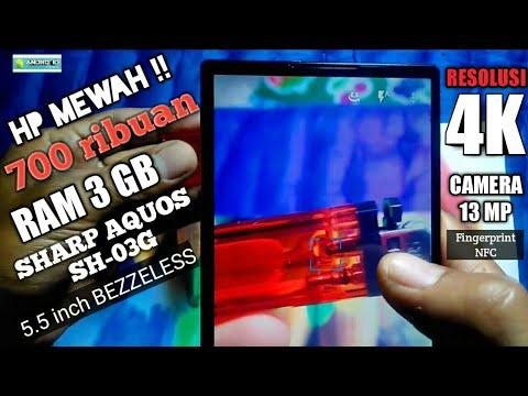 #unboxing SHARP SH-03G Ram 3GB. 700ribuan ada Fingerprint , NFC, dari Bukalapak