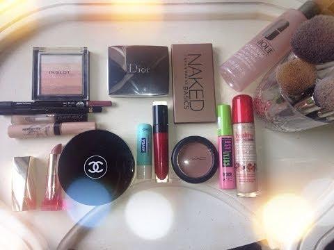 Повседневный макияж (кистями Hakuro) everyday makeup routine