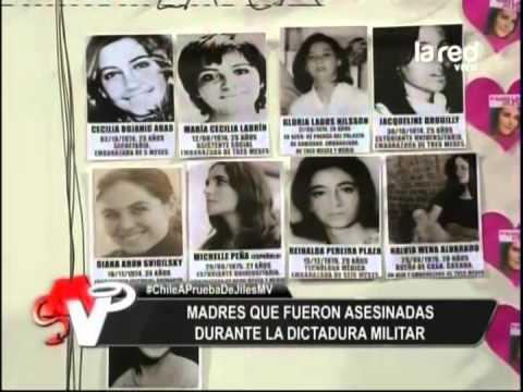 Madres que fueron asesinadas durante la dictadura militar