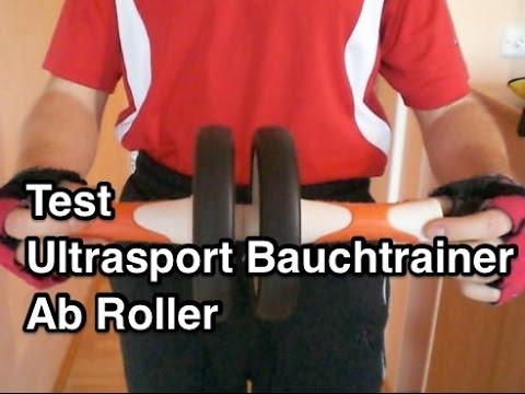 Test & Testbericht Ultrasport AB Roller, AB Wheel / Bauchtrainer Review Erfahrung Meinung Empfehlung