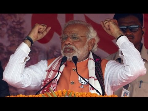 Narendra Modi Speech at a youth rally in Assam | Attacks Congress