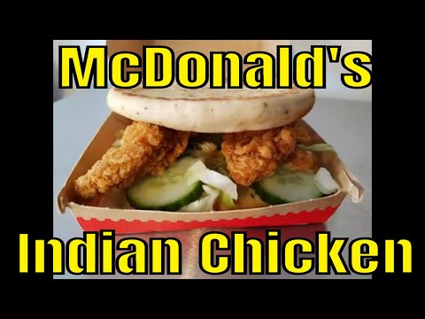 McDonald's UK - Indian Chicken - Great Tastes of the World