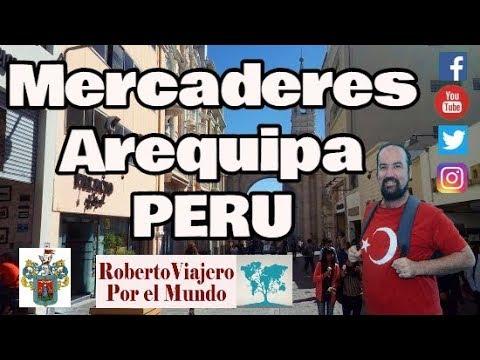 Paseo Peatonal Mercaderes, Arequipa Perú