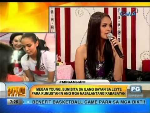 Unang Hirit: Miss World 2013 Megan Young LIVE sa Unang Hirit