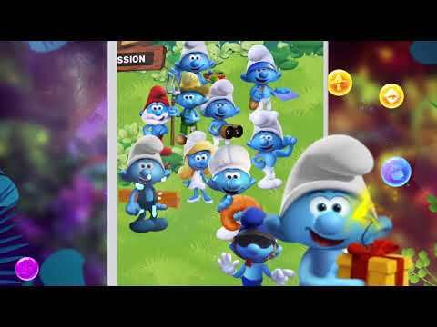 Smurfs Bubble Story APK Cover