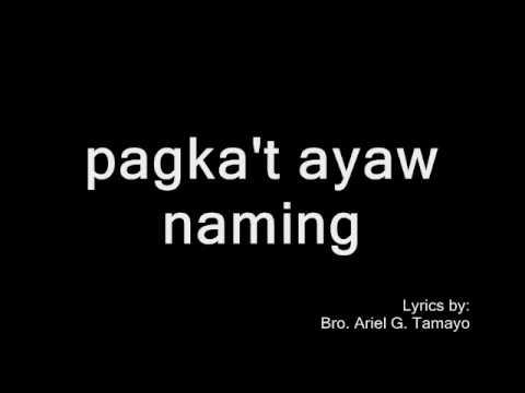 SA PAG-AGAW - Ariel G. Tamayo