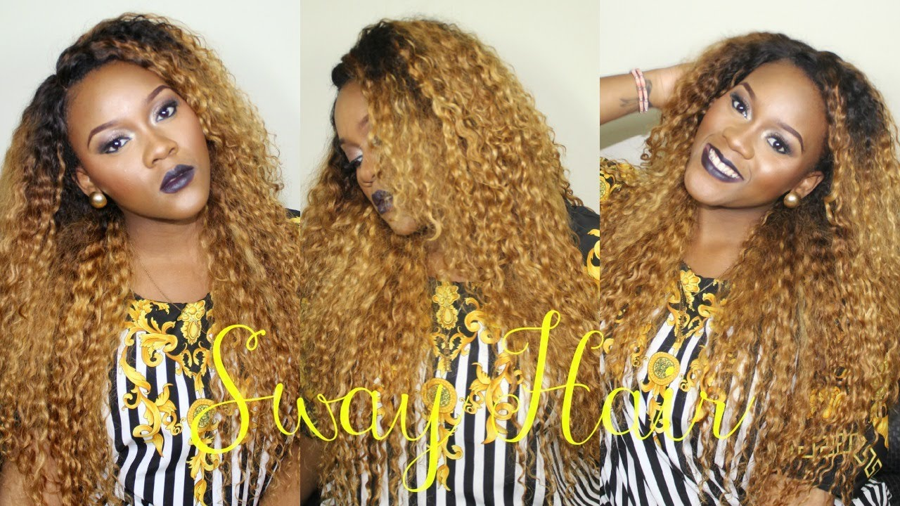 How To Curly Golden Locks With Sway Hair Brazilian Deep