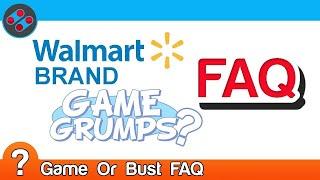 Walmart Brand Game Grumps? FAQ | Game Or Bust
