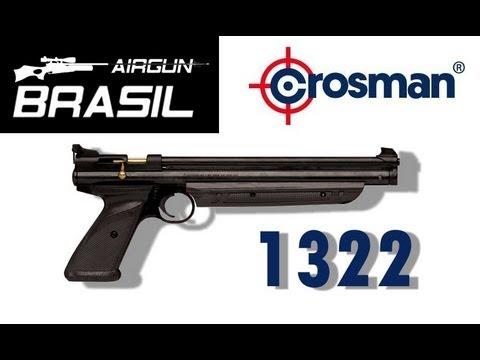 PUMP PISTOL CROSMAN 1322