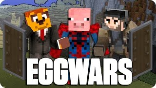 ¡NO TE CREERAS EL FINAL! EGGWARS | Minecraft Con Sara Y Exo