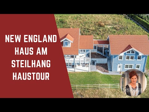 Haustour im New England Holzhaus Schweiz