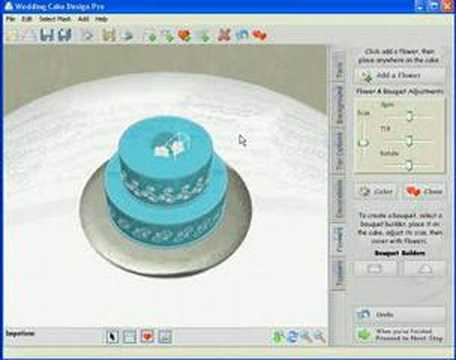 Wedding Cake Design Programs Free : My New Cake with Wedding Cake Design Pro - YouTube