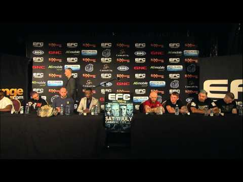 EFC 41: Post-Event Press Conference