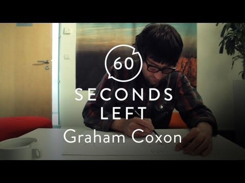 Blur&#039;s Graham Coxon Sketches an Elephant - 60 Seconds Left
