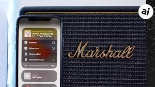 Marshall Acton & Stanmore Wi-Fi Speakers Review: Multi-Room Action w/ Airplay!