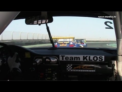 race-media.tv Onboard Classix: Porsche 997 RSR Jiri Janak 24h of Dubai 2009