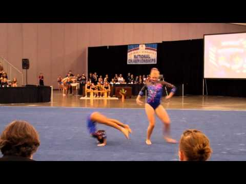 Mariah Cockshell & Kennedy Swanson - 2011 Acro Nationals - Dynamic Routine