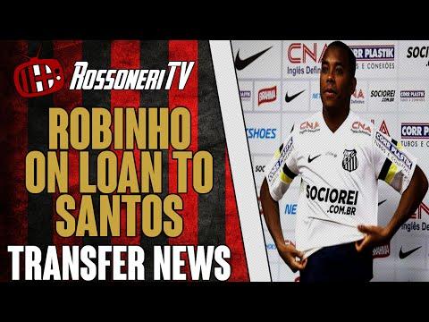 Robinho on loan to Santos! | AC Milan Transfer News | (07/08/14)