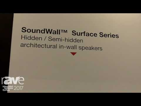 ISE 2017: Morel Shows Off SoundWall Surface Series Speaker