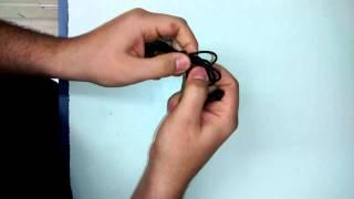 Como enrolar o fio do fone e do carregador de maneira correta
