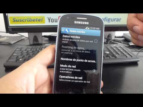 como activar datos prepago en samsung galaxy s3 mini i8190 español Full HD