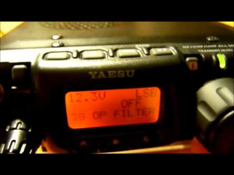 Yaesu FT-817 and the optional SSB filter YF-122S