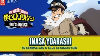 INASA IS COMING!!! My Hero Academia: One's Justice DLC Announcement!
