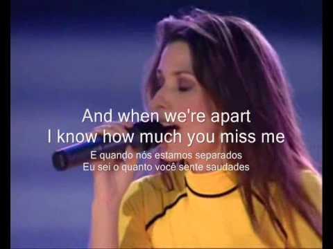 Shania Twain - Forever And For Always Letra & Tradução by Jottaelle.wmv