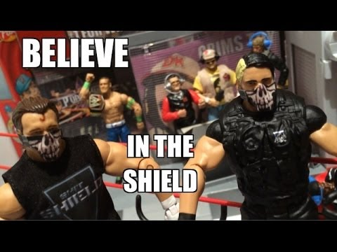 GTS WRESTLING: Unification Match! WWE Mattel Elite Figure Matches Animation