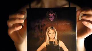 Tapping Buffy (DVDs ;-) ) - ASMR Softly Spoken contest entry for BeanzlovesSOAD