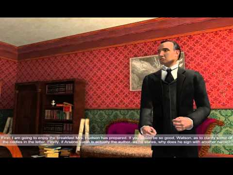 Sherlock Holmes: Nemesis Walkthrough part 1