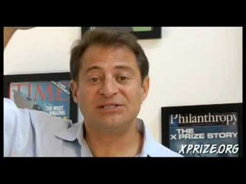 Peter Diamandis Pitches the Ansari X PRIZE