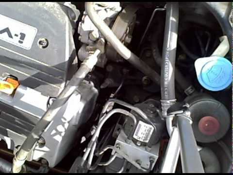 2003 Honda Element serpentine belt change - YouTube