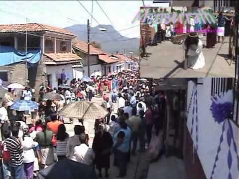 Santa Clara del cobre Tradiciones Viacrusis 2011.avi