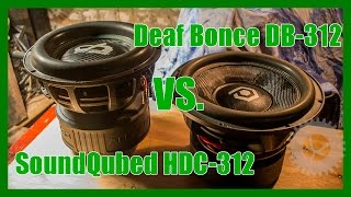 Сравнение - Deaf Bonce DB-312 VS. SoundQubed HDC-312