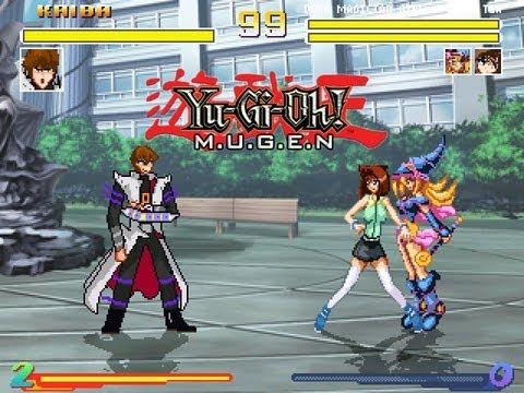 Yu-Gi-Oh! M.U.G.E.N Chars - Kaiba vs Tea and Dark Magician Girl
