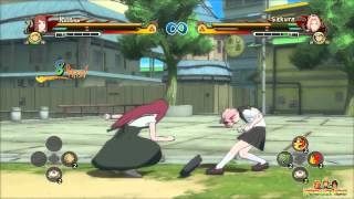Naruto Shippuden The Movie: 6 - Naruto Shippuden Ultimate Ninja Storm Revolution   Kushina vs Sakura