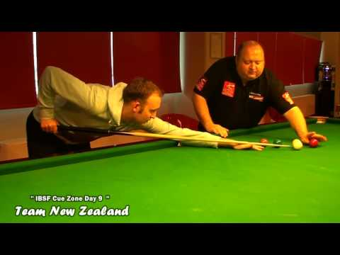 IBSF Latvia Cue Zone Day 9 - Team New Zealand