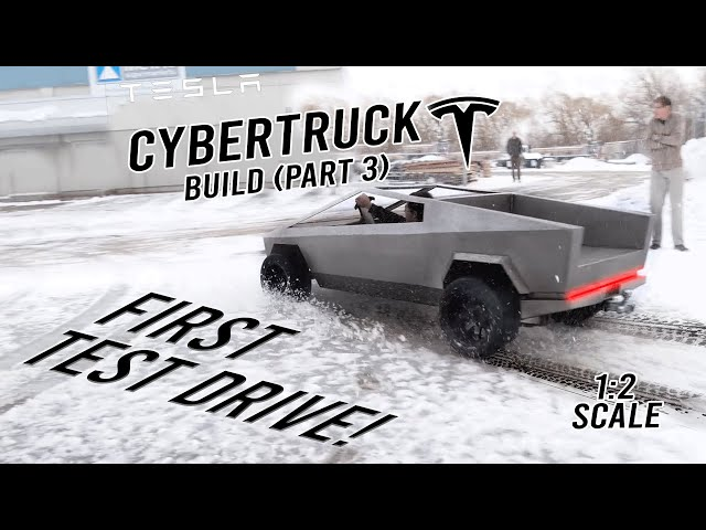 CYBERTRUCK BUILD (Part 3: Almost Done!) thumbnail