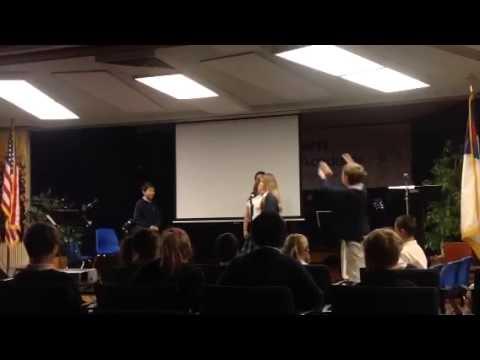 Dawn Christian Academy 5/6 chapel - 11/06/2014