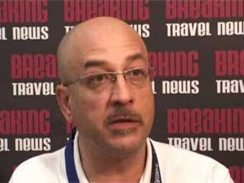 Pasquale Barone, Director for Global Leisure Sales for Eos Airlines @ CHA 2008