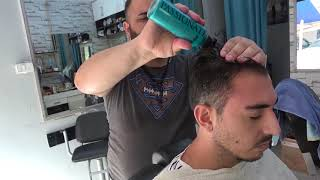 ASMR Turkish Barber Face,Head and Body Massage 194