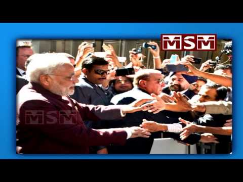 PM Modi deeply touched by warm welcome in New York